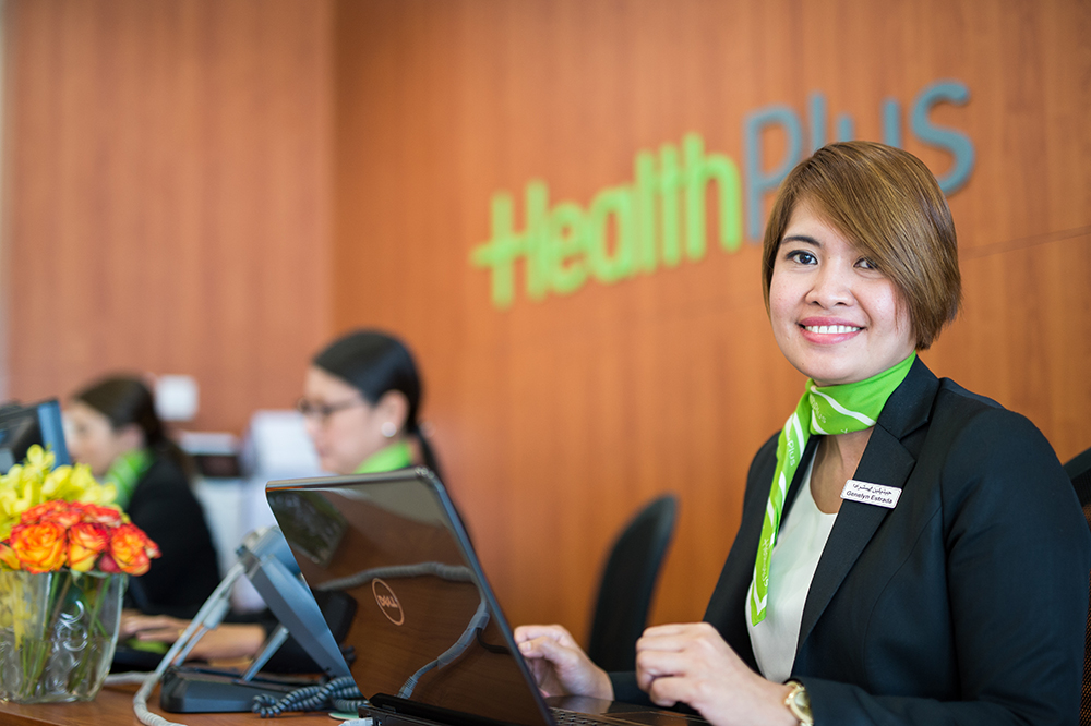 HealthPlus Family Health Center Receptionist