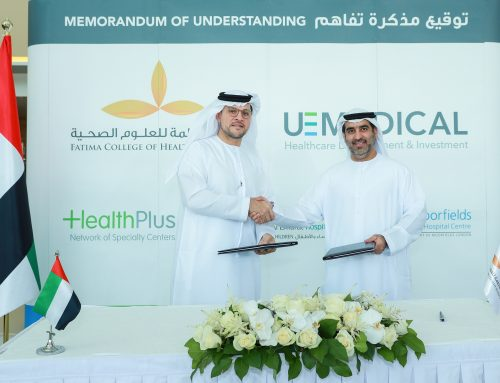 Fatima College of Health Sciences and United Eastern Medical Services Sign Memorandum Of Understanding