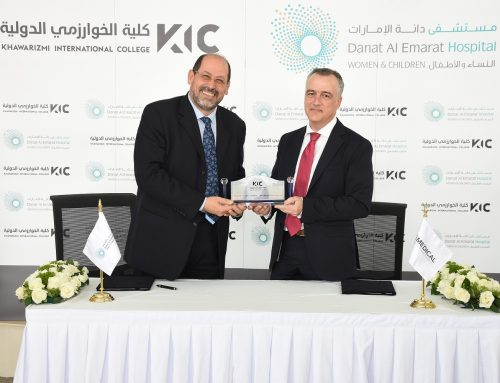 Al Khwarizmi College at Danat Al Emarat Hospital for Women & Children in Abu Dhabi Sign Memorandum of Understanding