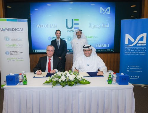 Mohammed Bin Rashid University of Medicine and Health Sciences Signs a Memorandum of Understanding with United Eastern Medical Services